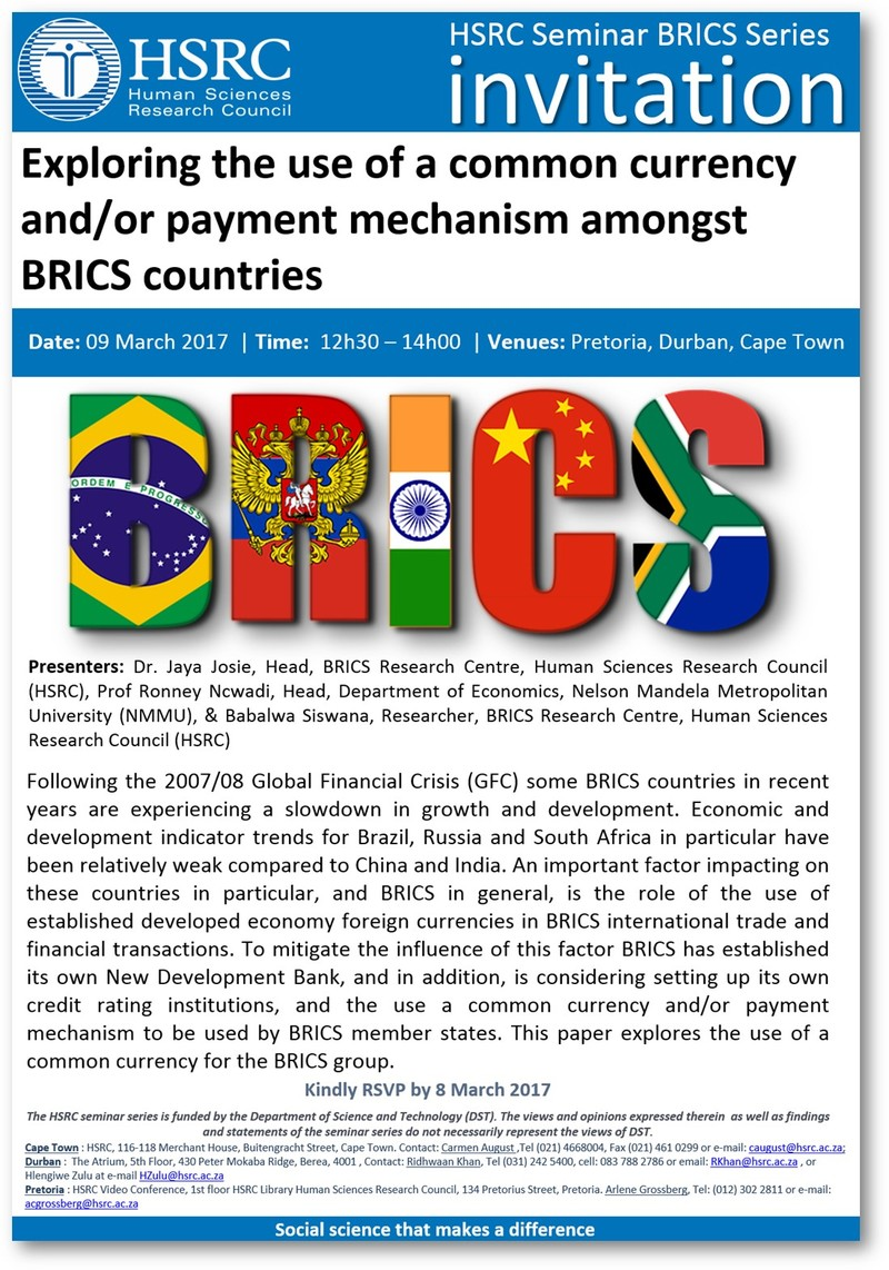 brics research papers This free economics essay on the brics fallacy is perfect for economics today currently as the brics a goldman sachs research paper predicted the weight.