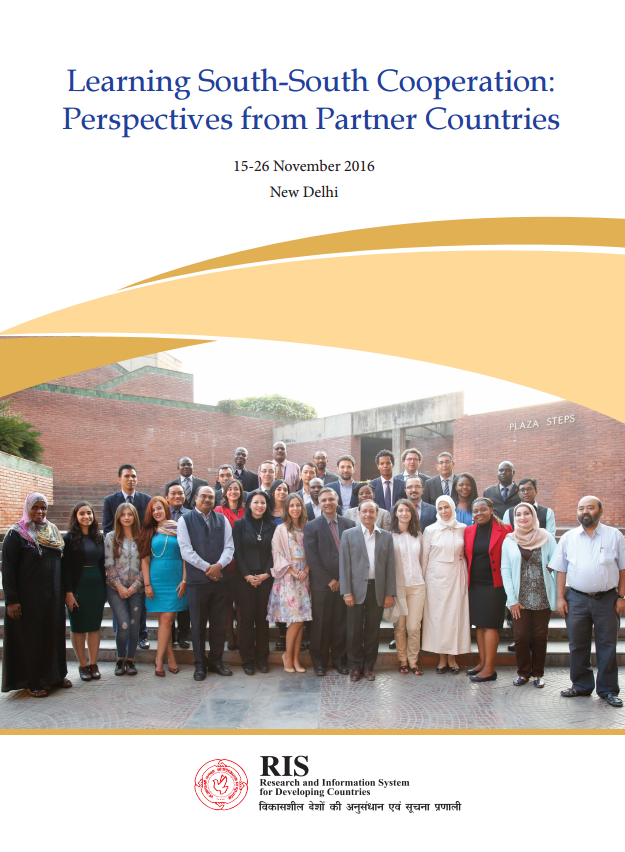 south south cooperation Institutionalizing south-south cooperation: towards a new paradigm background research paper oliver stuenkel submitted to the high level panel on the post-2015 development agenda.